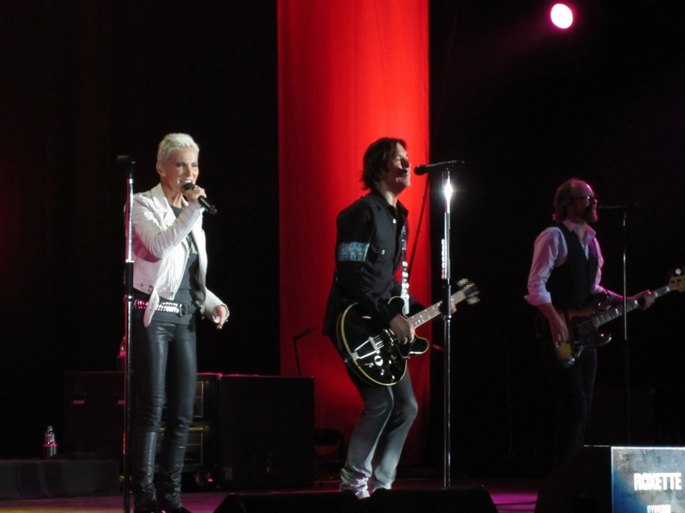 Roxette in Hong Kong